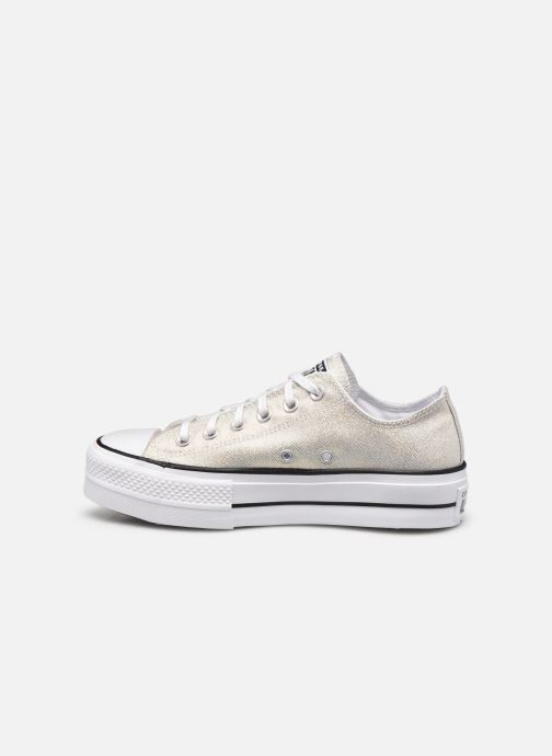 Baskets Converse Chuck Taylor All Star Lift Industrial Glam Ox Argent vue face