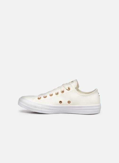 Sneakers Converse Chuck Taylor All Star Seasonal Leather Ox Wit voorkant