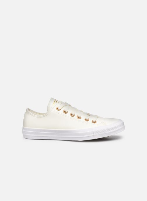 Sneakers Converse Chuck Taylor All Star Seasonal Leather Ox Wit achterkant