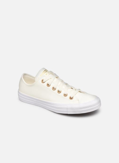 Sneakers Converse Chuck Taylor All Star Seasonal Leather Ox Wit detail