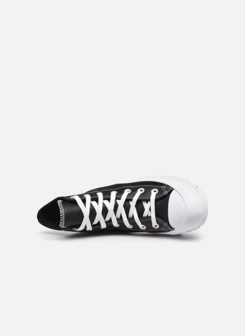 Sneaker Converse Chuck Taylor All Star Lugged Foundational Leather Hi schwarz ansicht von links