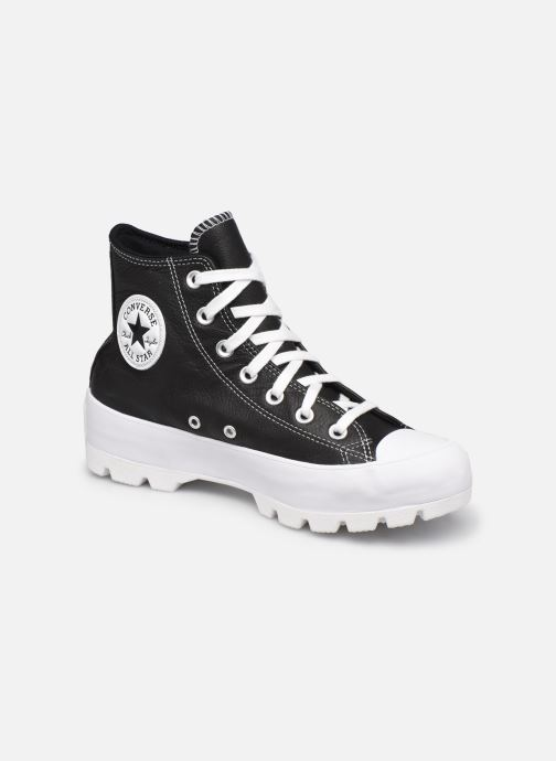 Sneaker Converse Chuck Taylor All Star Lugged Foundational Leather Hi schwarz detaillierte ansicht/modell