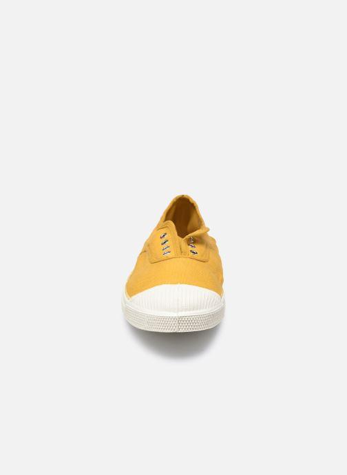 Baskets Bensimon Tennis Elly W Jaune vue portées chaussures
