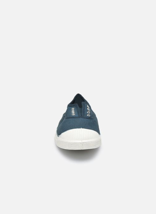 Baskets Bensimon Tennis Elly W Vert vue portées chaussures