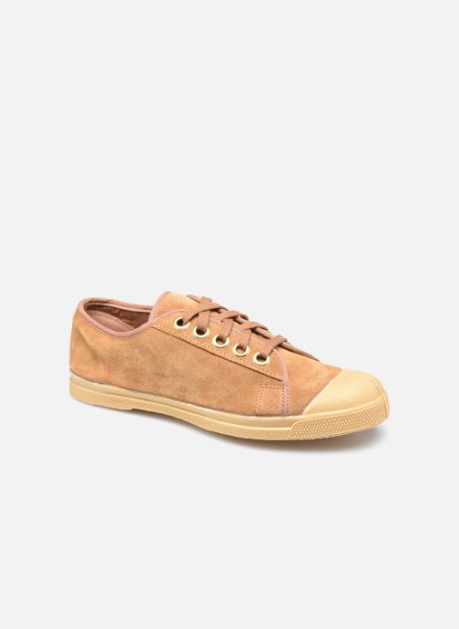 Sneakers Bensimon Romy Suede Bruin detail