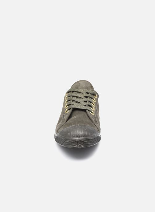 Baskets Bensimon Romy Suede Vert vue portées chaussures