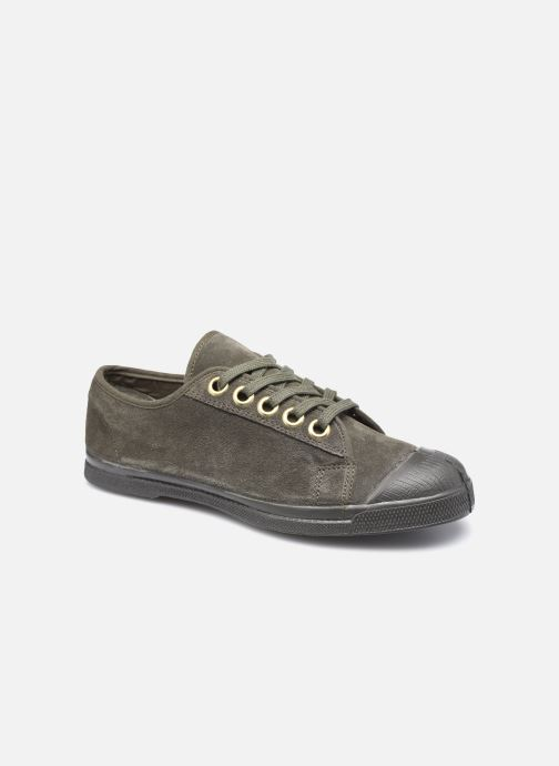 Sneakers Bensimon Romy Suede Groen detail