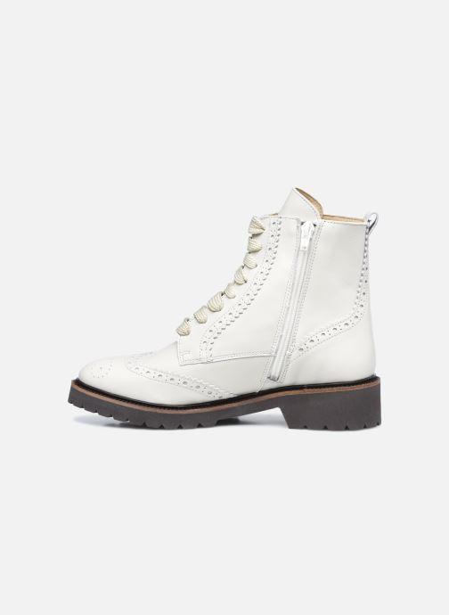Stiefeletten & Boots Bensimon Derbys Montantes Ever weiß ansicht von vorne