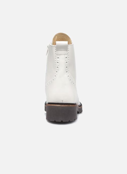 Stiefeletten & Boots Bensimon Derbys Montantes Ever weiß ansicht von rechts