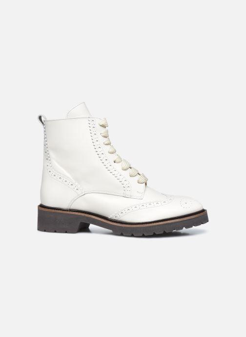 Stiefeletten & Boots Bensimon Derbys Montantes Ever weiß ansicht von hinten
