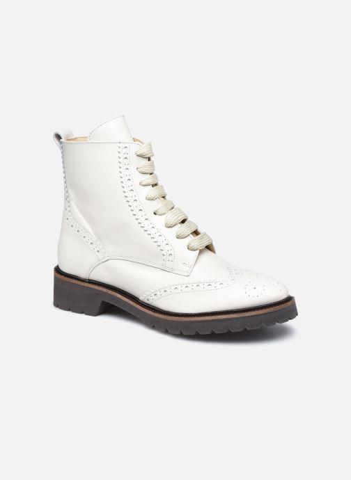 Boots en enkellaarsjes Bensimon Derbys Montantes Ever Wit detail