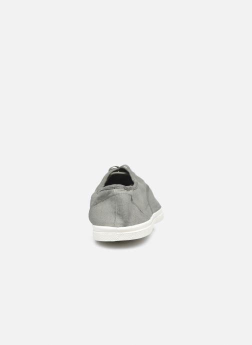 Sneaker Bensimon Tennis Lacets M grau ansicht von rechts
