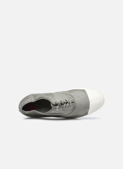 Sneaker Bensimon Tennis Lacets M grau ansicht von links
