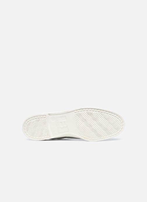 Sneaker Bensimon Tennis Lacets M grau ansicht von oben