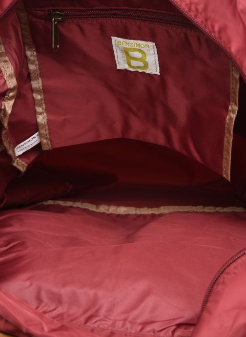 Reisegepäck Bensimon Tourbag weinrot ansicht von hinten