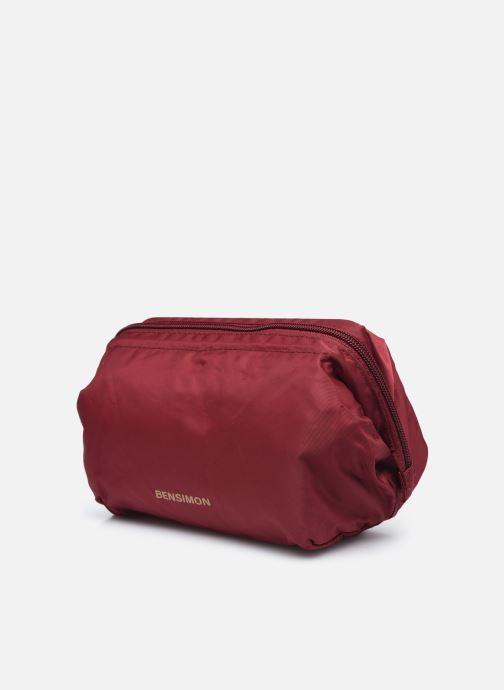 Reisegepäck Bensimon Beauty Wallet S weinrot schuhe getragen