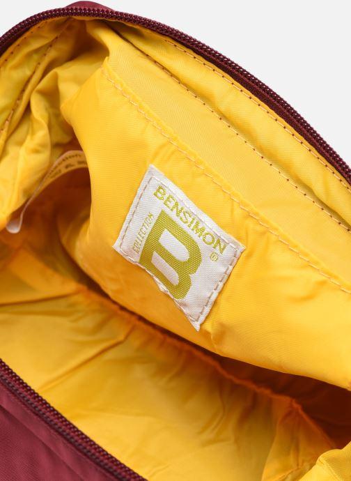 Reisegepäck Bensimon Beauty Wallet S weinrot ansicht von hinten