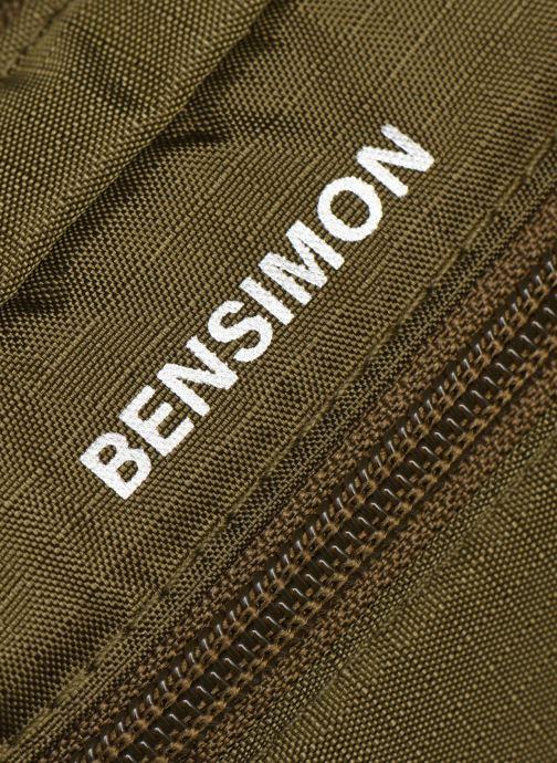 Bolsos de hombre Bensimon Banana Clutch Verde vista lateral izquierda