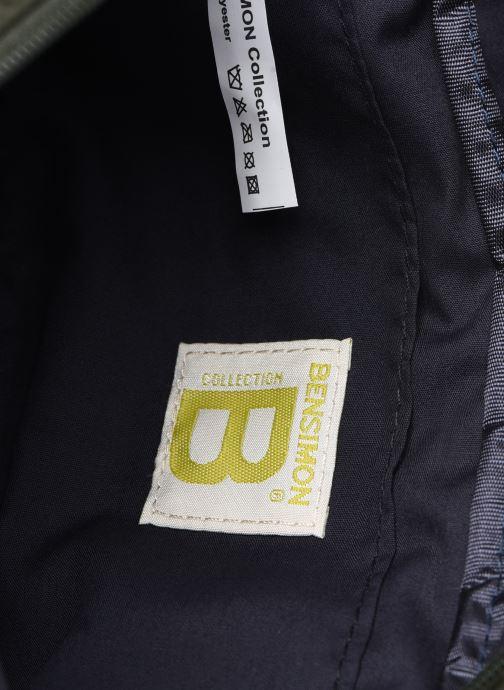 Herrentaschen Bensimon Banana Clutch grün ansicht von hinten