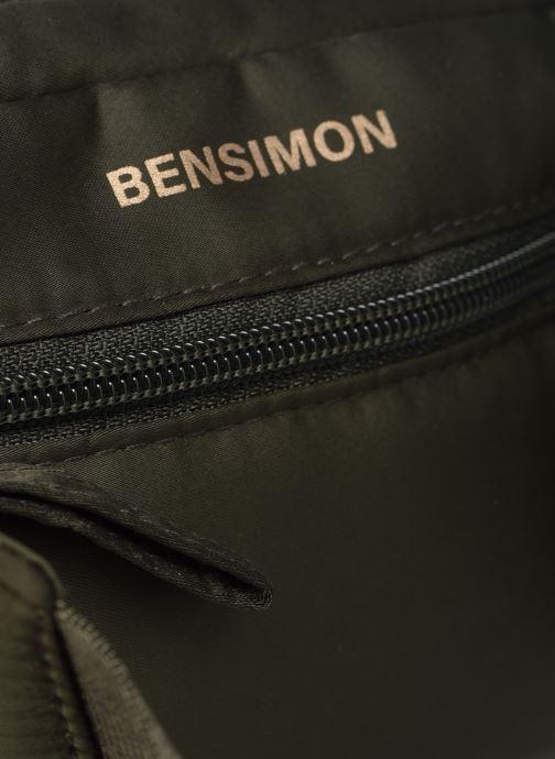 Herrentaschen Bensimon Banana Clutch grün ansicht von links
