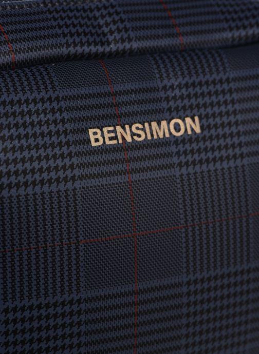 Bolsos de mano Bensimon Camera Besace Azul vista lateral izquierda