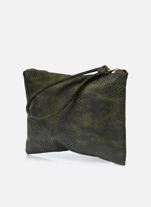 Diverse Bensimon Zipped Pocket 2 Grøn Se fra højre