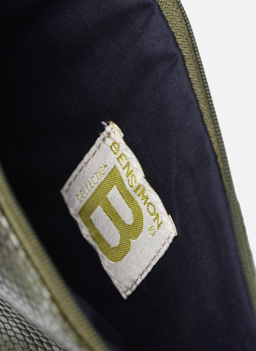 Diverse Bensimon Zipped Pocket 2 Grøn se bagfra
