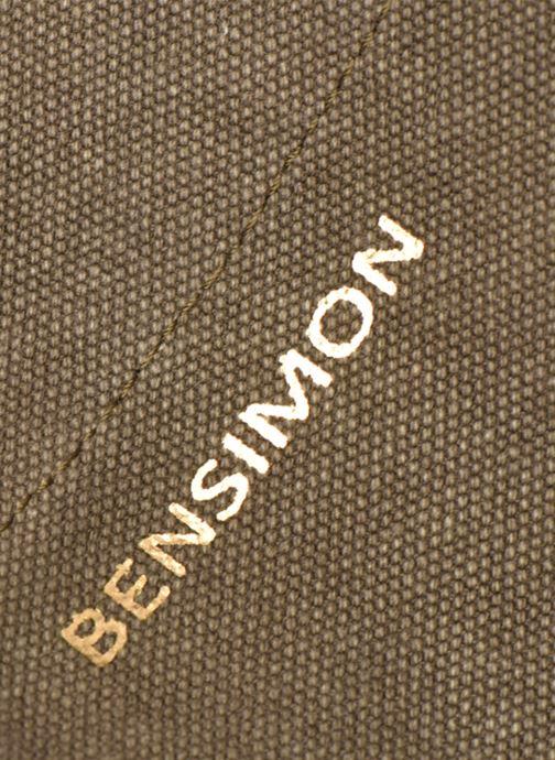 Bolsos de mano Bensimon Tote Elwenn Verde vista lateral izquierda