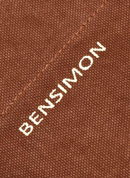 Bolsos de mano Bensimon Tote Elwenn Marrón vista lateral izquierda