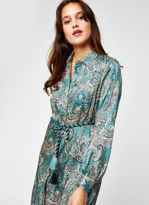 Vêtements Swildens Chine Vert vue détail/paire