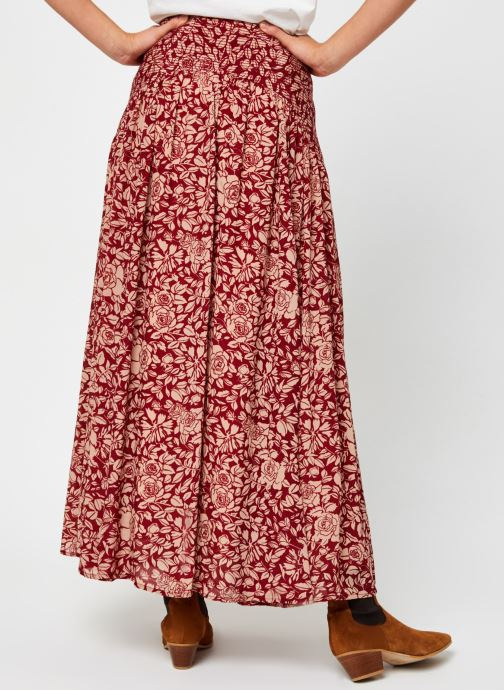 Vêtements Swildens Carmen Rouge vue portées chaussures
