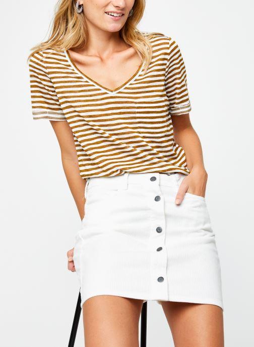 T-shirt - Objtessi Slub V-Neck