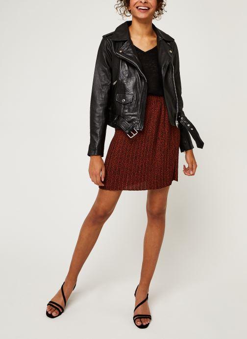 Kleding OBJECT Objnandita Leather Jacket Zwart onder