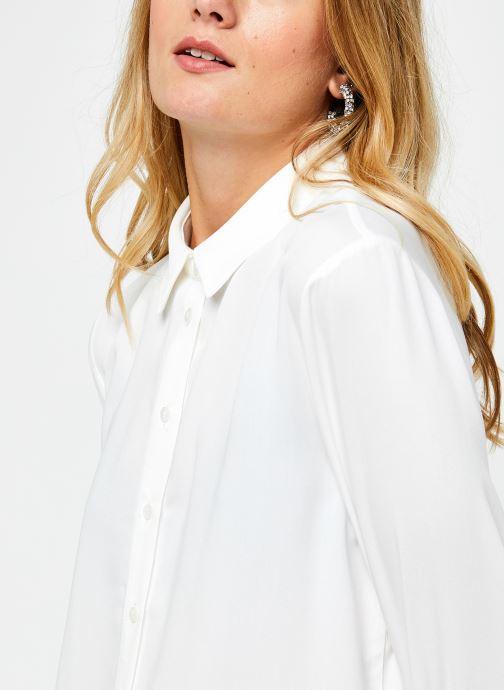 Vêtements OBJECT Objbaya Shirt Blanc vue face