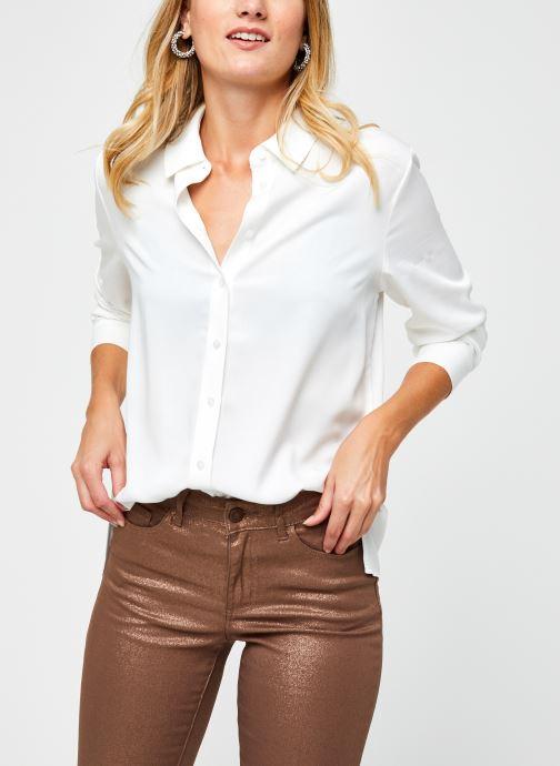 Vêtements OBJECT Objbaya Shirt Blanc vue détail/paire