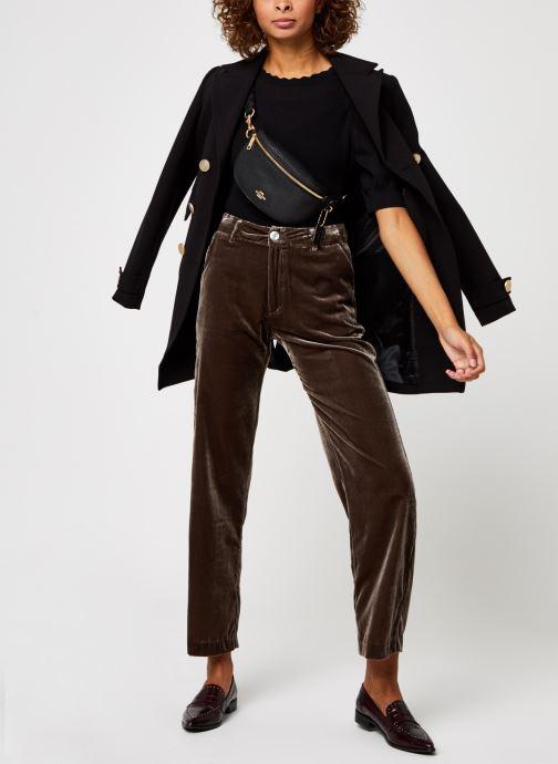 Vêtements OBJECT Objhanna Knit Pullover Noir vue bas / vue portée sac
