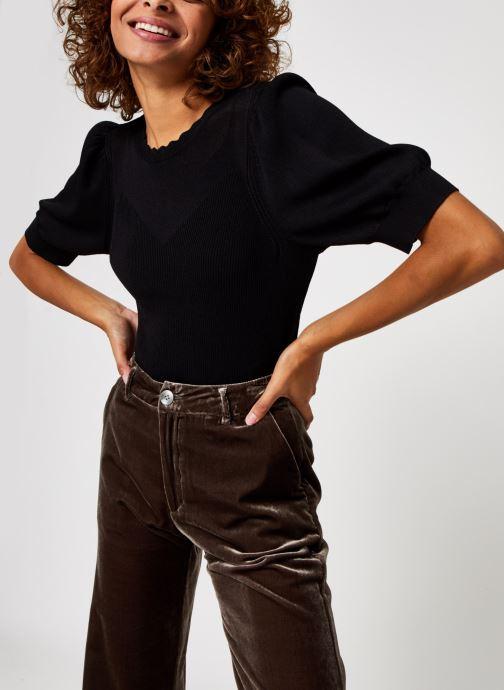 Vêtements OBJECT Objhanna Knit Pullover Noir vue détail/paire
