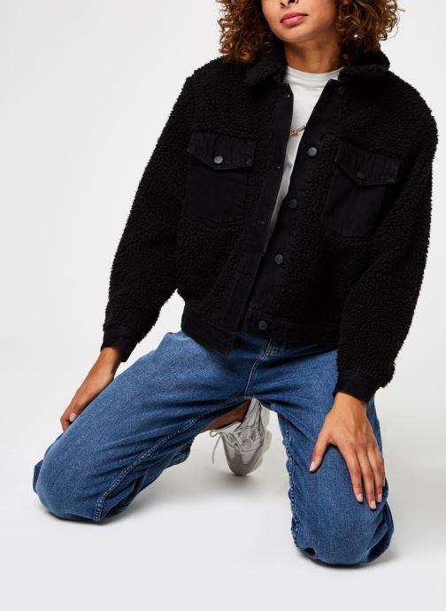 Vêtements OBJECT Objellen Jacket Noir vue bas / vue portée sac
