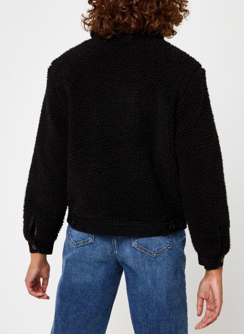 Vêtements OBJECT Objellen Jacket Noir vue portées chaussures
