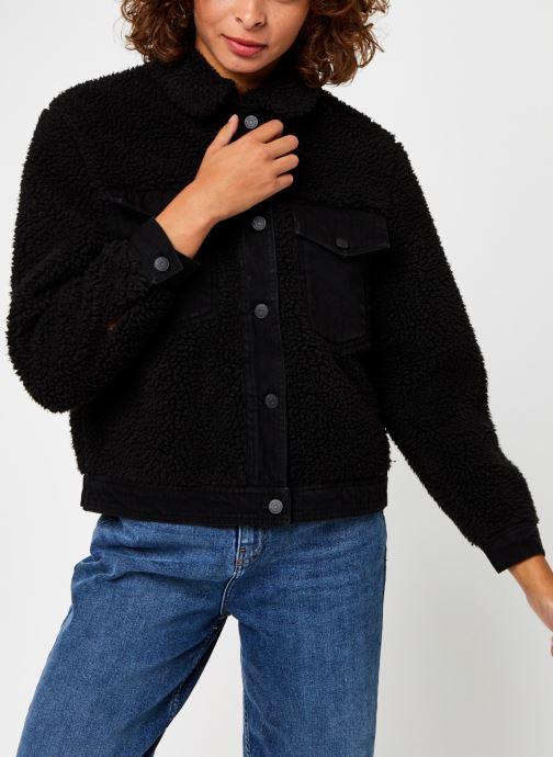 Vêtements OBJECT Objellen Jacket Noir vue droite