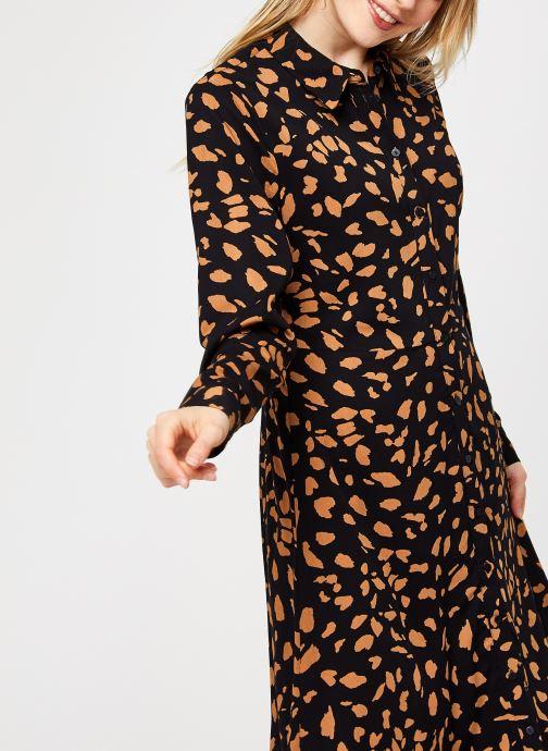 Vêtements OBJECT Objbaya Long Shirt Dress Noir vue détail/paire