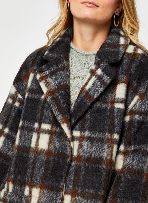 Vêtements OBJECT Objnina Long Coat Marron vue face
