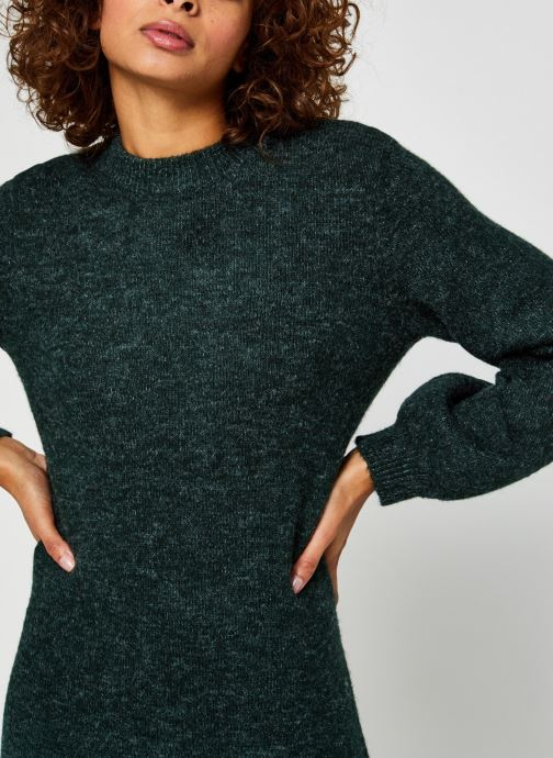 Vêtements OBJECT Objeve Nonsia Knit Dress Vert vue face