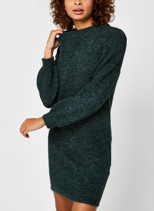 Vêtements OBJECT Objeve Nonsia Knit Dress Vert vue droite