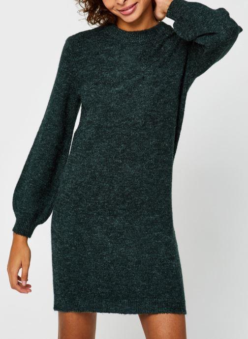 Vêtements OBJECT Objeve Nonsia Knit Dress Vert vue détail/paire