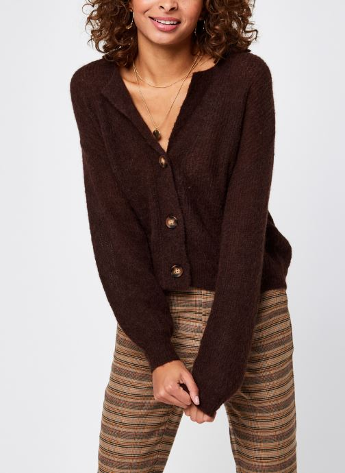 Gilet - Objirina Knit Collar Cardigan