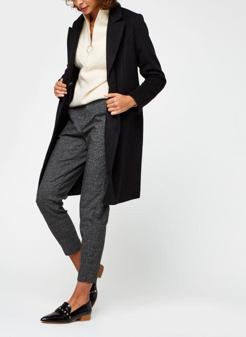 Vêtements OBJECT Objlisa Slim Pant Noir vue bas / vue portée sac