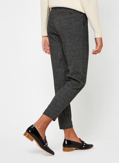 Vêtements OBJECT Objlisa Slim Pant Noir vue portées chaussures