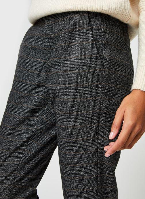 Vêtements OBJECT Objlisa Slim Pant Noir vue face
