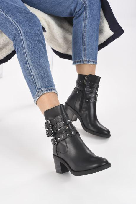 Boots en enkellaarsjes Guess FL8COL LEA10 Zwart onder
